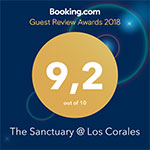 2018 guest review award from booking.com
