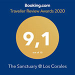 2020 traveller review award from booking.com